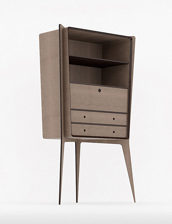 Bookcase design.