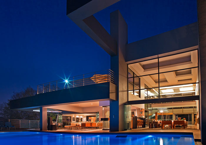 House Eccleston in Bryanston, Johannesburg, South Africa