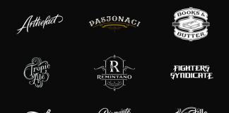 30 completely handlettered logotypes by Mateusz Witczak.