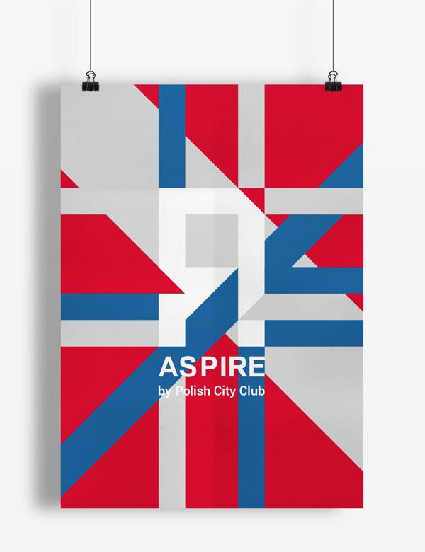 Aspire by Polish City Club - Poster design.
