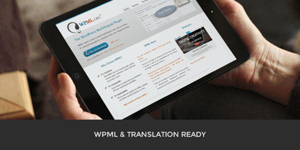 WPML and translation ready.