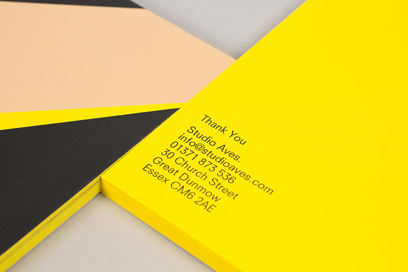Business Cards - close up