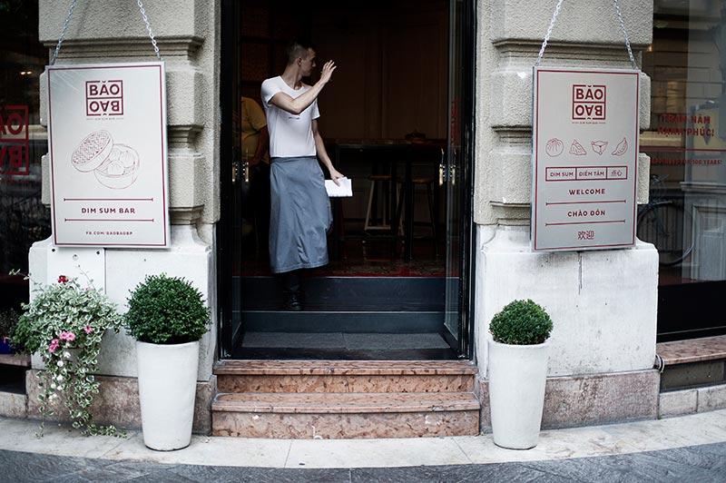 Dim sum bar BAOBAO - Photography by Balázs Glódi.