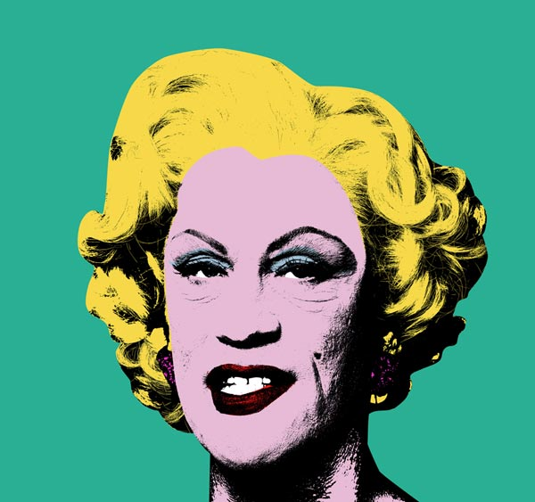 Andy Warhol - Green Marilyn Monroe (1962), 2014 - Work from the series Malkovich, Malkovich, Malkovich: Homage to Photographic Masters.