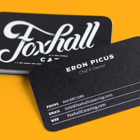 Foxhall Catering - Brand Identity