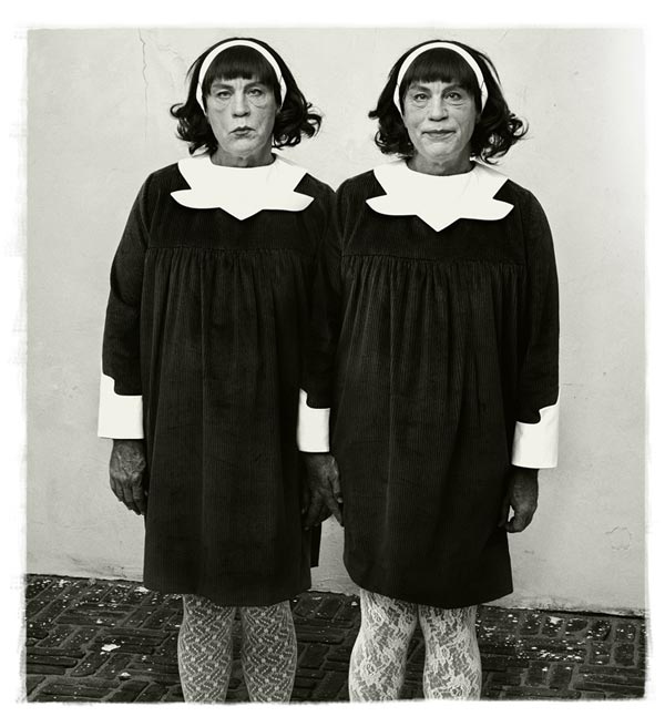 Remake of Diane Arbus' Identical Twins, Roselle, New Jersey (1967), 2014