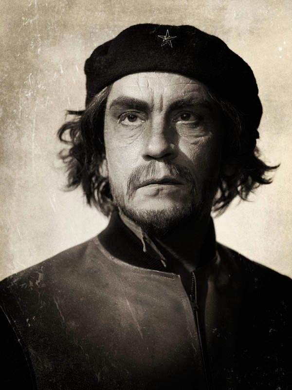 John Malkovich photographed by Sandro Miller as a tribute to Alberto Korda - Che Guevara (1960), 2014