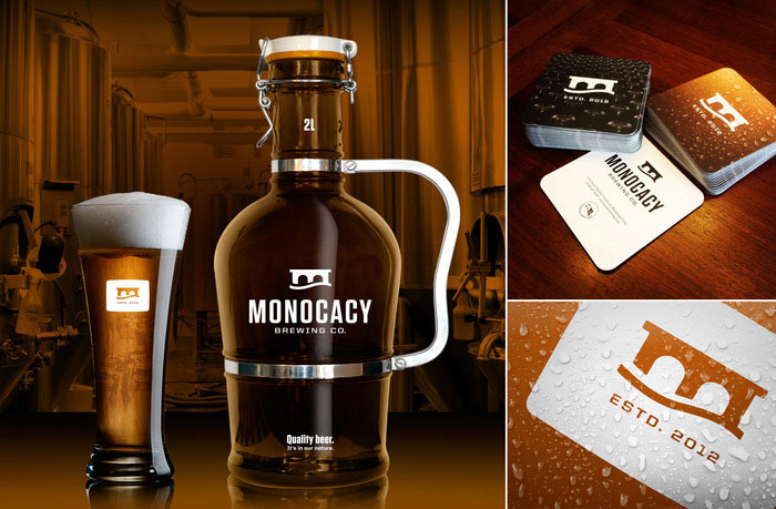 Monocacy Brewing Company - Corporate design by Tribe, a multi-disciplinary design studio located in Frederick, Maryland.