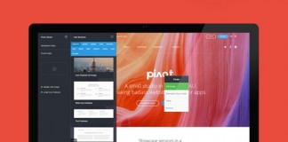 Pivot, a multi-purpose template with Variant page builder.