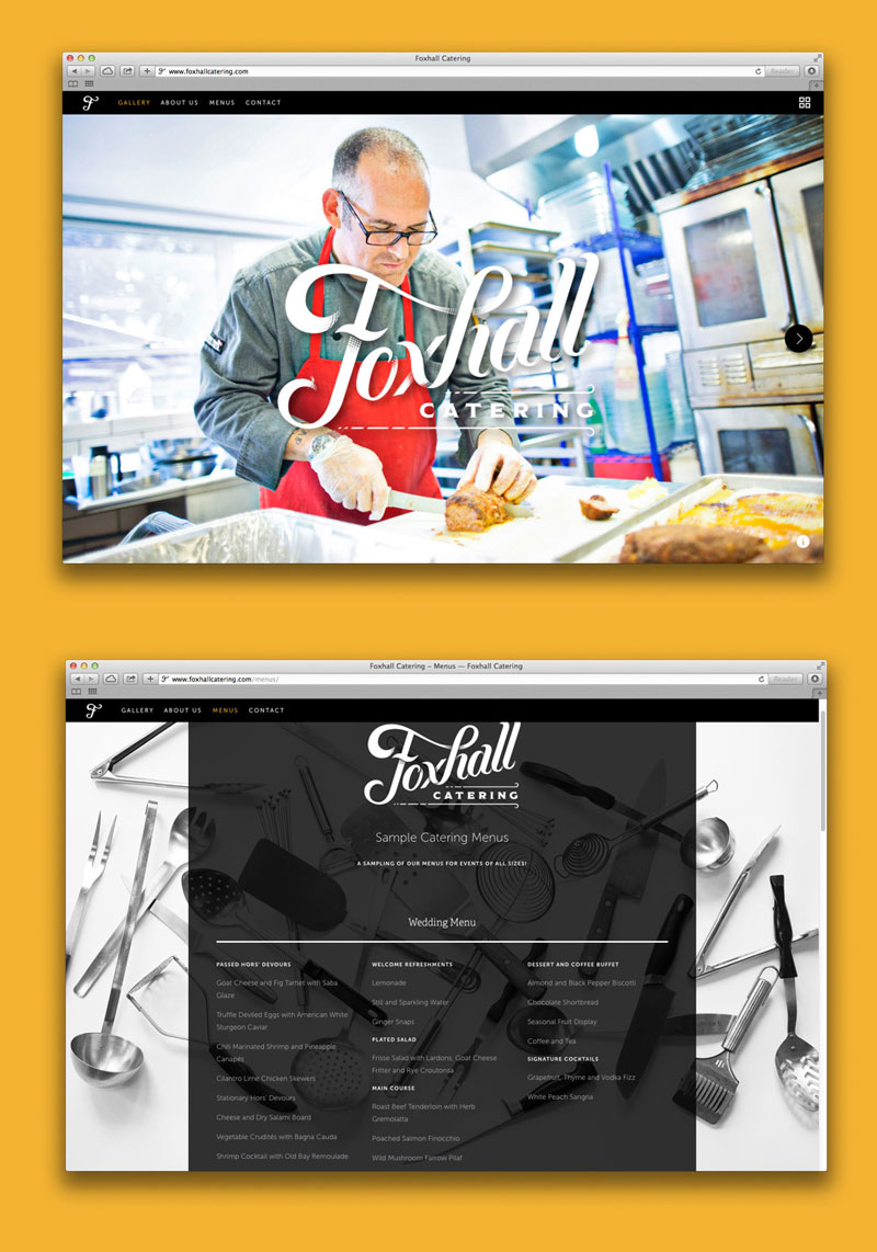 Foxhall Catering – Brand Identity