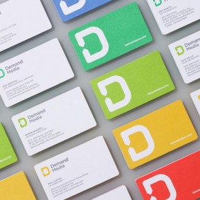 Demand Media - Rebranding by Studio Manual