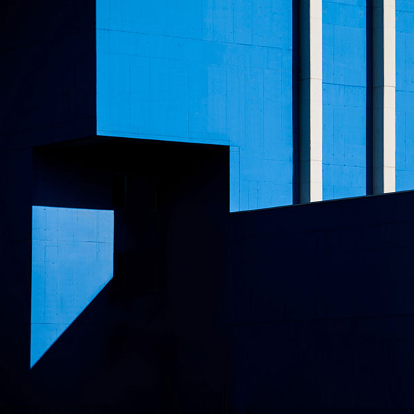 Shadows and architectural forms.