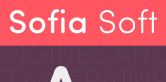 Sofia Soft, a rounded version of the Sofia Pro family.