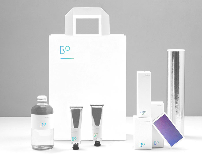 The Boreálica packaging range.