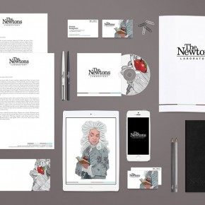 The Newtons Laboratory - Redesign of the Brand Identity