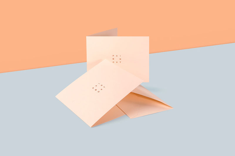 Branding, art direction, and web design by Lotta Nieminen for Paintbox, a modern manicure studio based in New York City.