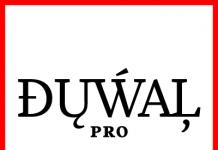 Duwal Pro, an Antiqua typeface by German designer Dennis Dünnwald for font foundry Volcano.