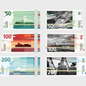 Norway's new Banknotes by Studio Snøhetta & The Metric System