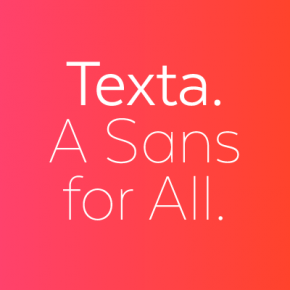 Texta - Modern Text Font from Latinotype