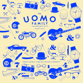Uomo - Contemporary Typographic System from Latinotype