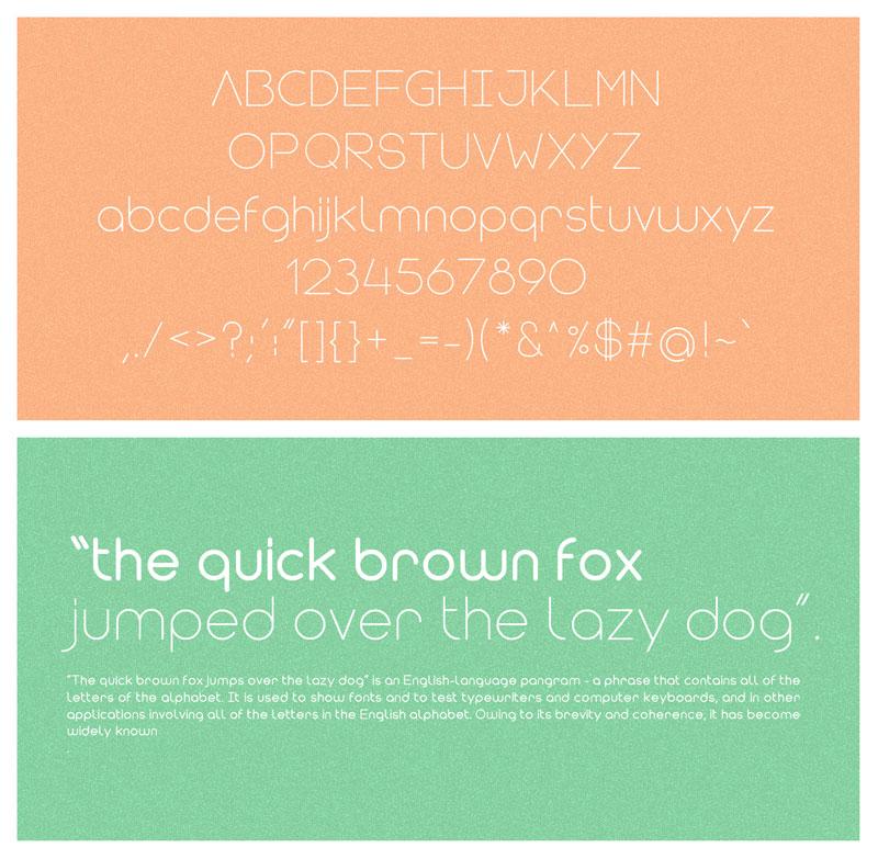 Modulus Font Family from VirtueCreative