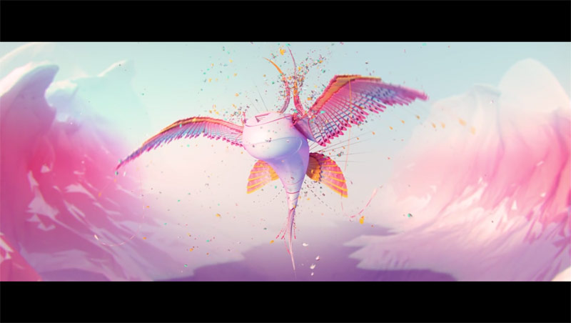 Fantastic motion graphics, sound design, and animations.