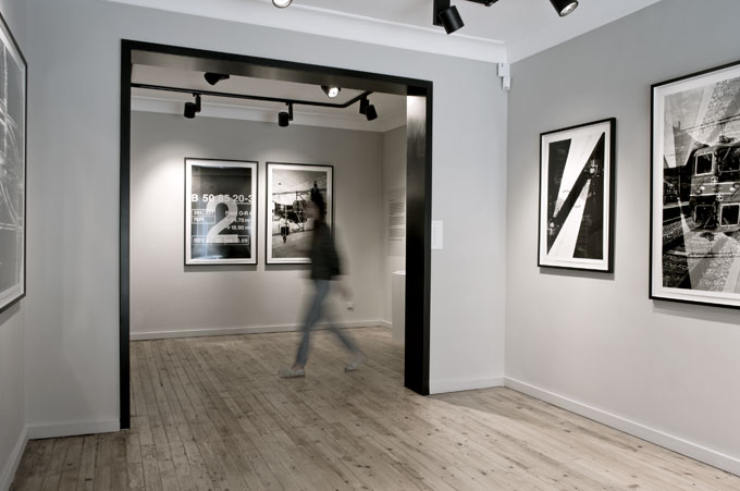 Gallery show.