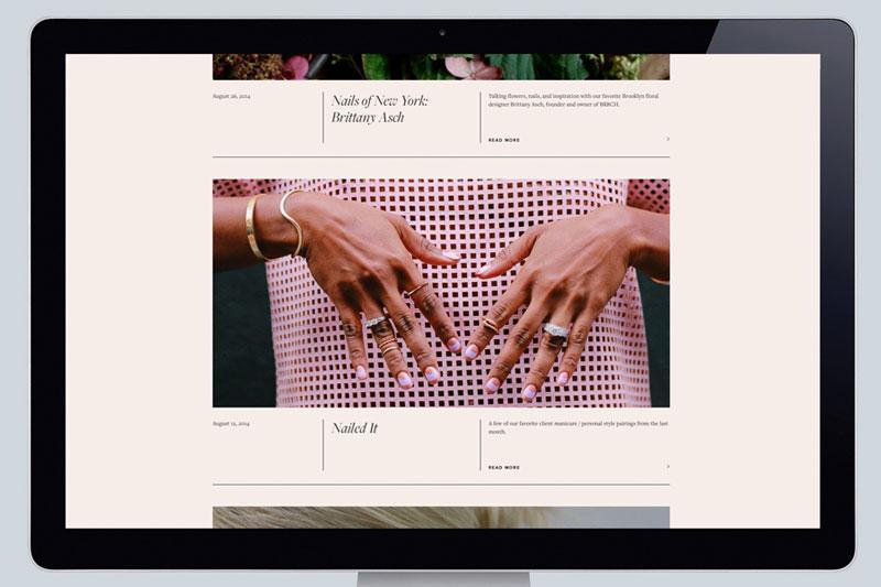 Paintbox – Manicure Studio Branding by Lotta Nieminen