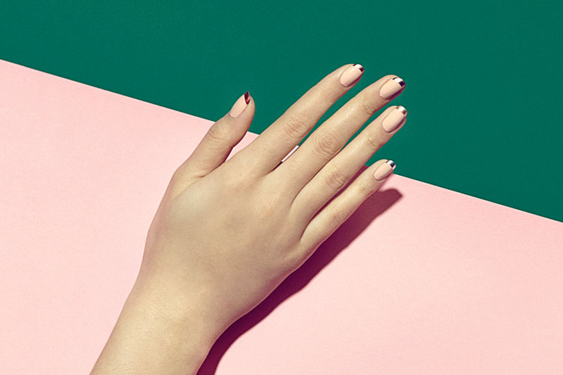 Manicures brand imaging.