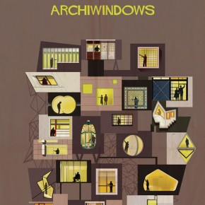 Archiwindow Poster Series by Federico Babina