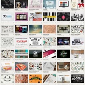 Big Bundle Vol. 2 from Creative Market