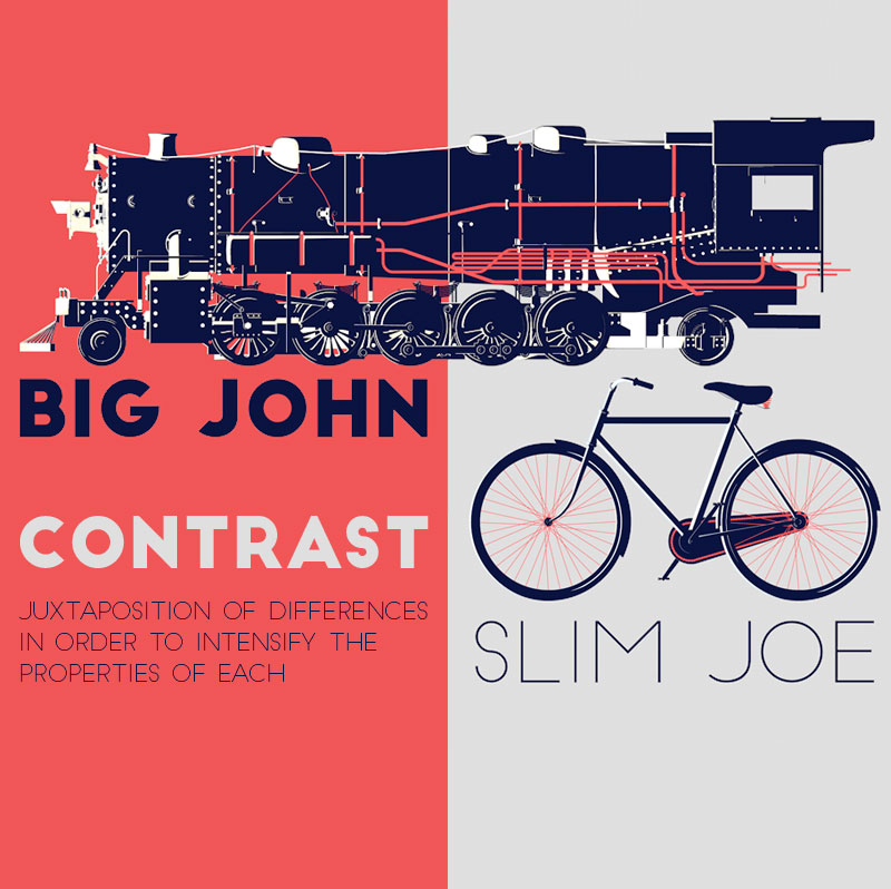 Big John and Slim Joe - two free display typefaces.