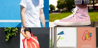 Brand images and examples of use.