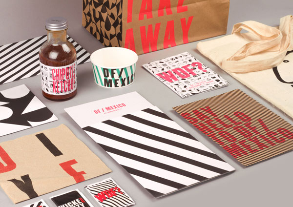 DF/Mexico - printed matters and corporate identity design by BuroCreative.