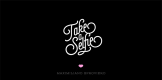 Selfie script font family by Maximiliano Sproviero of Lián Types.