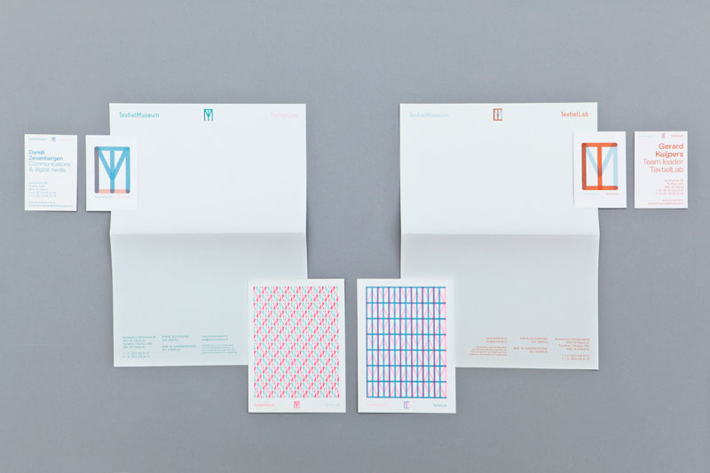 Stationery design by Raw Color.