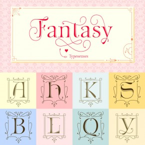 The Fantasy Font Family from Typesenses