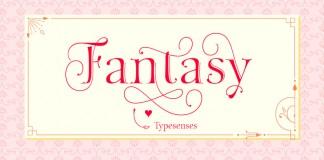 The Fantasy font family from Typesenses.