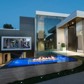 Laurel Way Residence in Beverly Hills, CA
