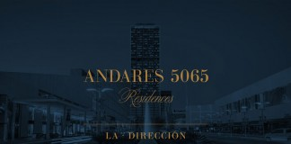 Andares 5065 - art direction and identity system for an exclusive hotel and residences tower in Guadalajara, Mexico.