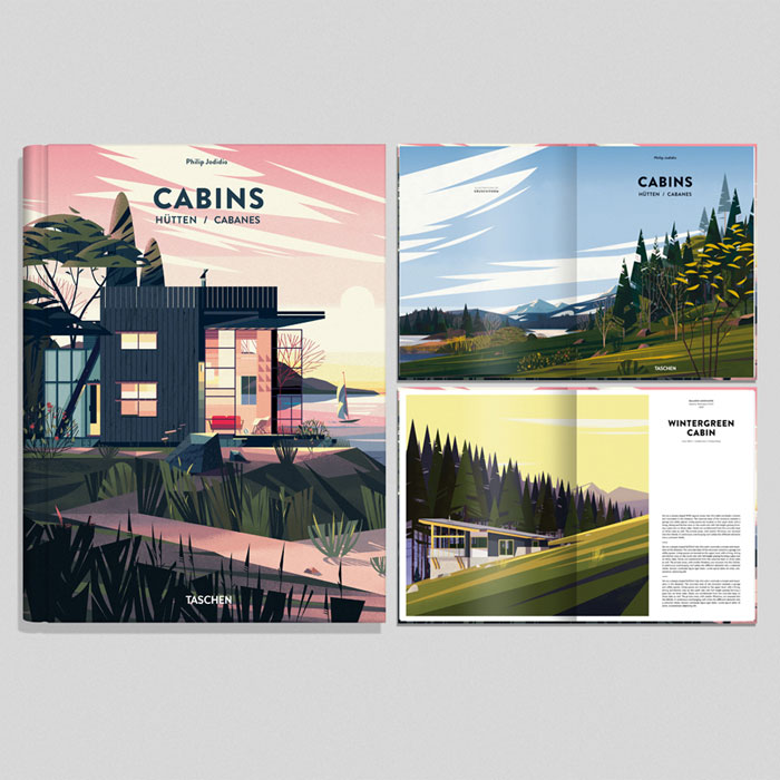 Picture Book Illustration Making An Architectural Model: CABINS BOOK Illustrations By CRUSCHIFORM