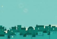 January Artwork by Lotta Nieminen for Google Calendar app.