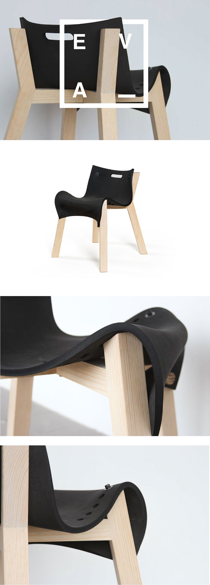 La eva chair design by david ortiz for Industrial design chair