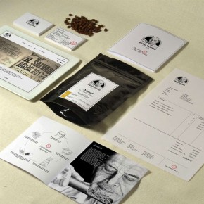 Nero Scuro - Italian Coffee Roastery Branding by Manuel Bortoletti