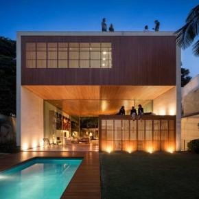 Tetris House in São Paulo, Brazil