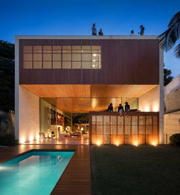Tetris House by Studio MK27.