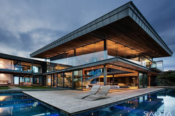 The Cove 3 houseinPezula Estate, Knysna, South Africa.