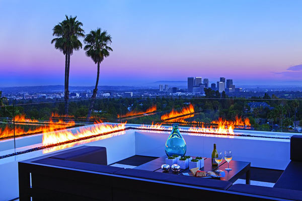 Overlooking view of Los Angeles.