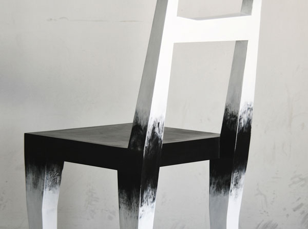 Close up of the chair.