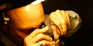 Finest jewelry crafts - micro-precise work.